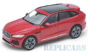 Welly 217194 Jaguar F-Pace, rot