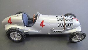 CMC M-116 Mercedes- Benz W125, GP Donington, 1937 #4 Seaman Limited Edition 1,000 pcs.