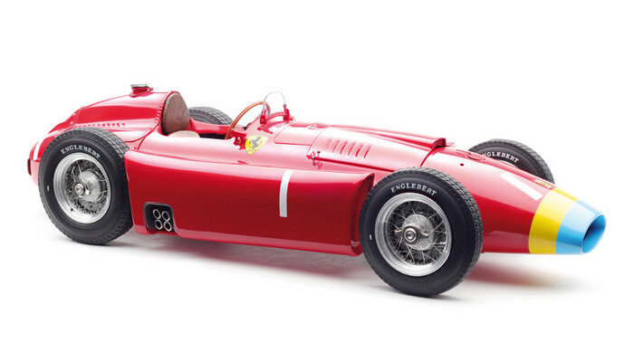 CMC M-181 Ferrari D50, 1956 long nose, GP Germany #1 Fangio, Limited Edition 1,500 pcs.