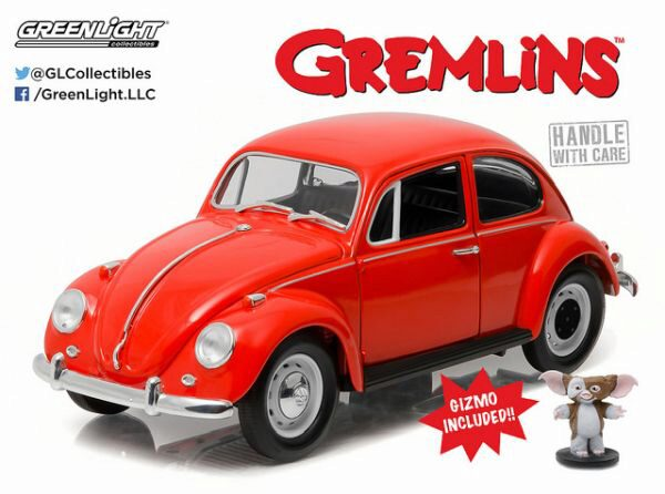 Greenlight 12985 1967 VW Beetle with Gizmo Figure
