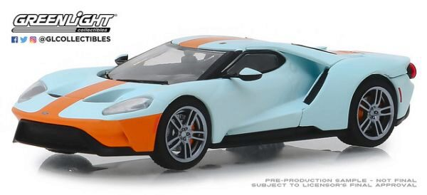Greenlight 86158 2019 Ford GT