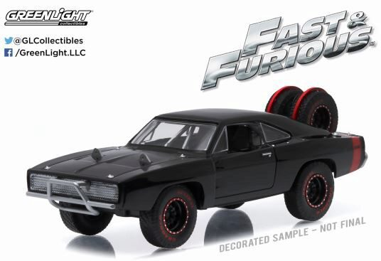 Greenlight 86232 1970 Dodge Charger R/T Off-Road