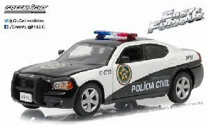 Greenlight 86237 2011 Dodge Charger Rio Police