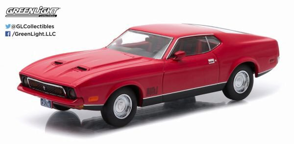 Greenlight 86304 1971 Ford Mustang Mach 1 red