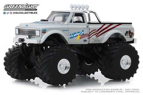 Greenlight 88012 1970 Chevy K-10 Monster Truck USA-1