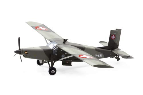 ACE 001603 V-631 Pilatus PC-6 Turbo Porter Swiss Air Force