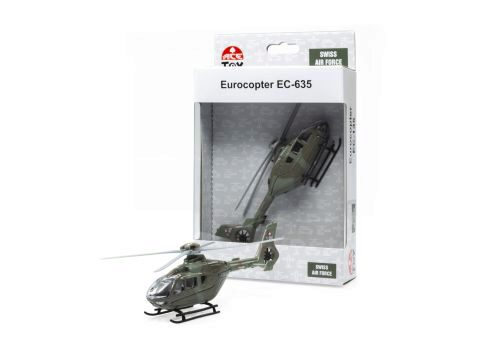 ACE-Toy 002105 EC-635 Swiss Air Force Helikopter Mini