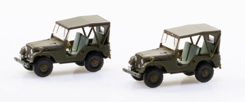 ACE 005105 Set mit 2 Willy s Jeep M38A1 Schweizer Armee