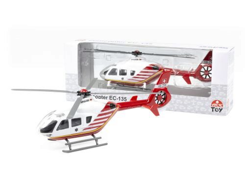 ACE-Toy 3565976AR4 EC-135 Heli Air-Glaciers weiss/rot HB-ZRK