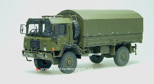 Tek-Hoby TH5071 SAURER 6 DM 4x4 Swiss Army 1982