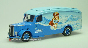 "Tek-Hoby TH5331 SAURER 3CT1D fourgon ""Chocolat Suchard"""