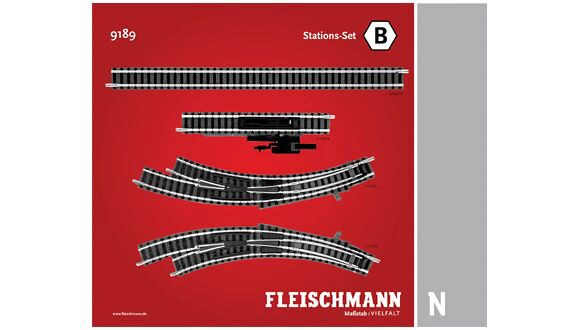 Fleischmann 9189 STATION-SET B