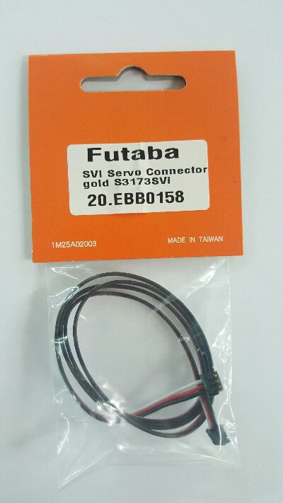 Futaba EBB0158 SVI Servo connector S3173SVi gold 500mm
