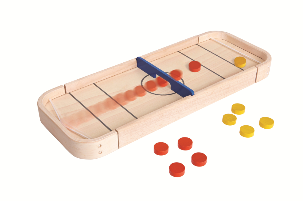 Plan Toys 4626 2 in 1 Shuffleboard