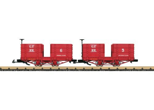LGB 32441 Personenwagen-Set Grizzly Fla