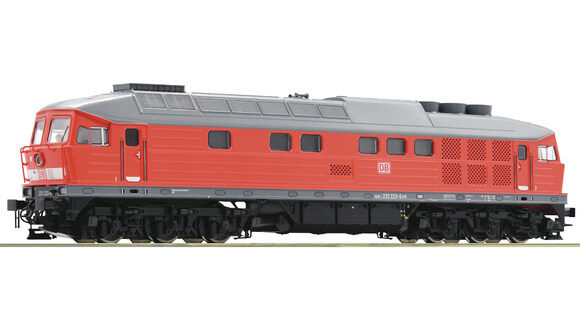 Roco 58497 DB-AG  Diesellokomotive BR 233 ~ AC-Digital-Sound
