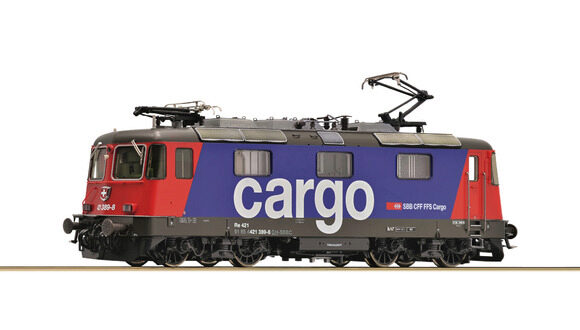 Roco 73257 SBB Elektrolokomotive  Re 421, SBB Cargo digital-sound