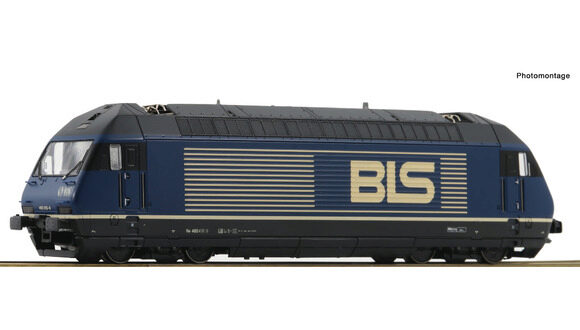 Roco 73288 BLS Elektrolokomotive Re 465, sound