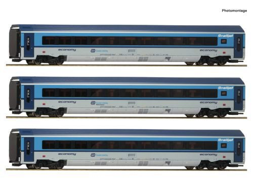 Roco 74139 CD 3er Set Railjet CD DC