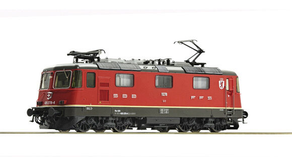 Roco 79259 SBB  Elektrolokomotive 420 278-4 Cham ~ AC-Digital-Sound