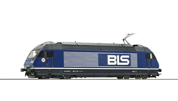 Roco 79288 BLS Elektrolokomotive Re 465  ~ AC-Digital-Sound