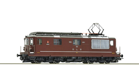 Roco 79781 BLS Elektrolokomotive Re 4/4 No 185 Lalden sound