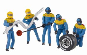 Carrera 21132 1:32 Mechaniker Team blau