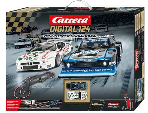 Carrera 23626 Digital 124 Startset Youngtimer Showdown / 8 Meter