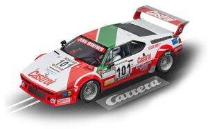 Carrera 23842 D124 BMW M1 Procar, No.101 Team Castrol Denmark