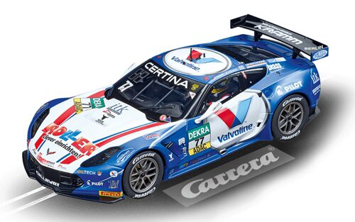 Carrera 23860 D124 Chevrolet Corvette C7.R No. 77 Callaway Competition
