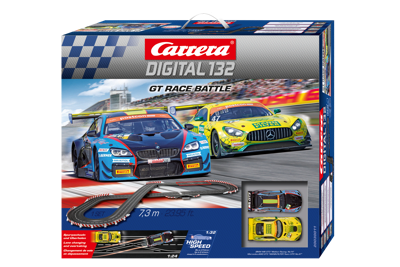 Carrera 30011 Digital 132 Startset GT Race Battle / 7.3 m