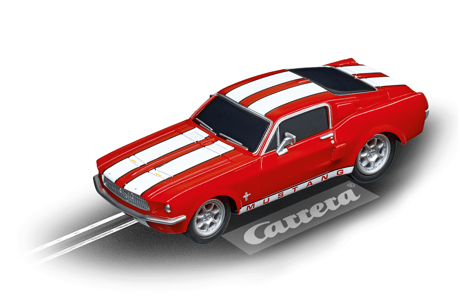 Carrera 64120 GO! Ford Mustang '67 Racing Red