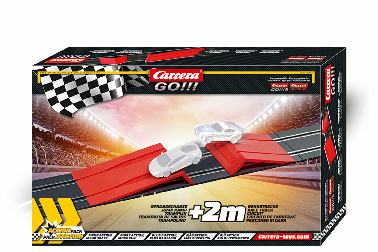 Carrera 71599 GO! Action Pack