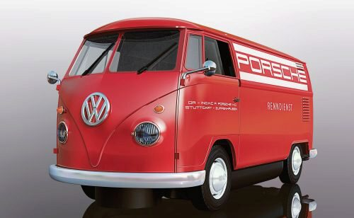 Scalextric C3755 Volkwagen Panel Van - Red