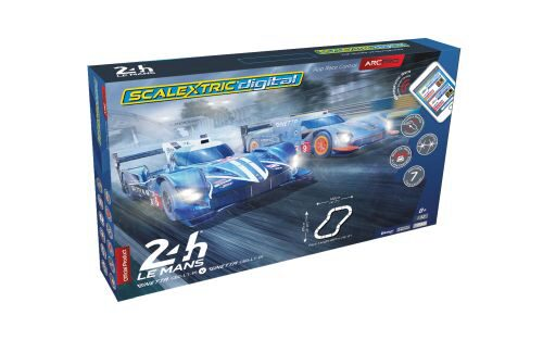 Scalextric C1404 ARC PRO 24H Le Mans Set (2 x Ginetta G60)