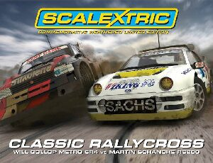 Scalextric C3267A Ford RS200 / Metro 6R4 Twinpack