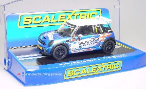 Scalextric C3528 BMW MINI Cooper S