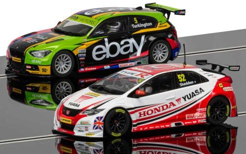 Scalextric C3694A British Touring Car Champions 2014 & 2015