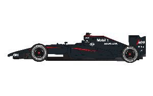 Scalextric C3705 McLaren F1 2015 (2015 livery on 2014 car)