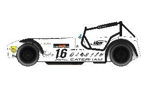 Scalextric C3723 Caterham Superlight