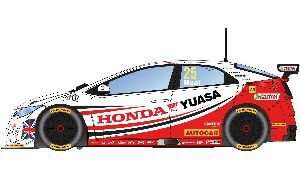 Scalextric C3734 BTCC Honda Civic Type R