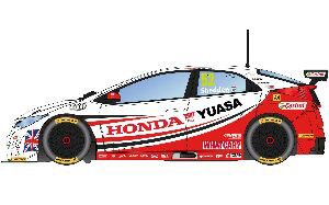 Scalextric C3783 BTCC Honda Civic Type R