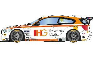 Scalextric C3784 BTCC BMW 125 Series 1