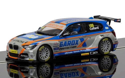 Scalextric C3862 BTCC BMW 125 Series 1 Rob Collard mit Licht