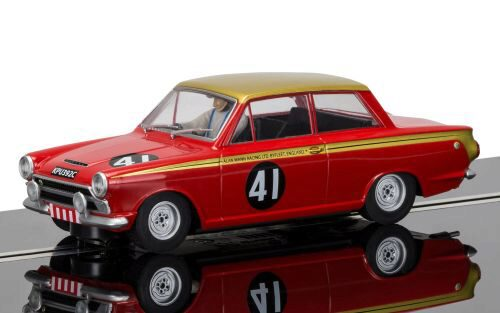 Scalextric C3870 Ford Cortina, Alan Mann Racing  mit Licht