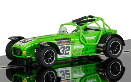 Scalextric C3871 Caterham Superlight Lee Wiggins mit Licht