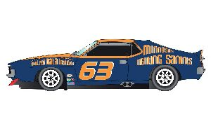 Scalextric C3876 AMC Javelin Trans Am Jockos Racing mit Licht