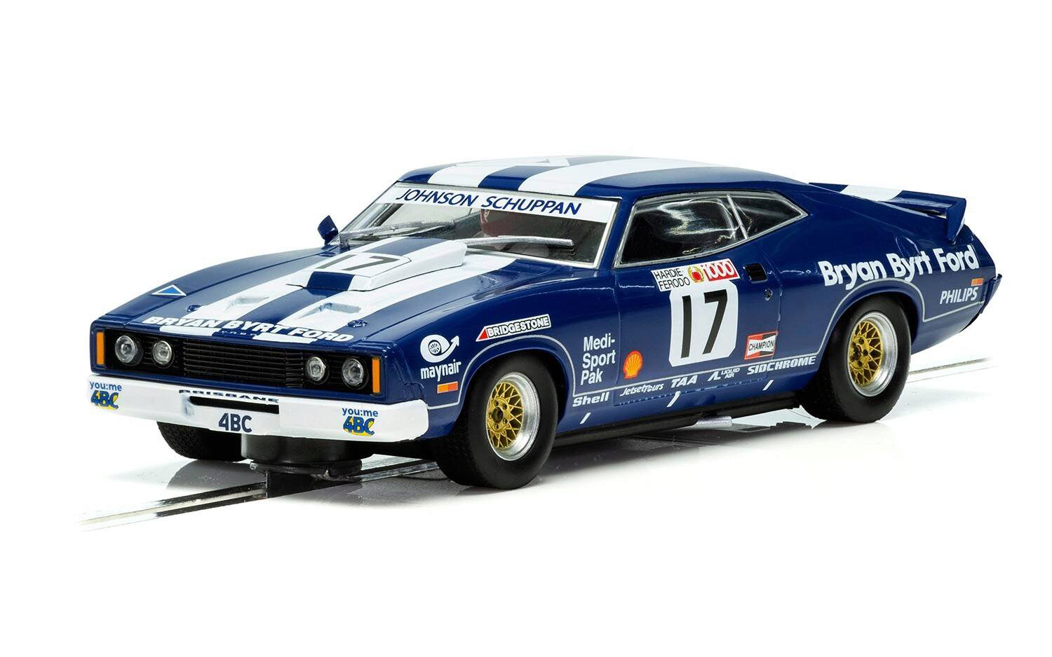 Scalextric C3923 Ford XC Falcon Bathurst Dick Johnson 1978