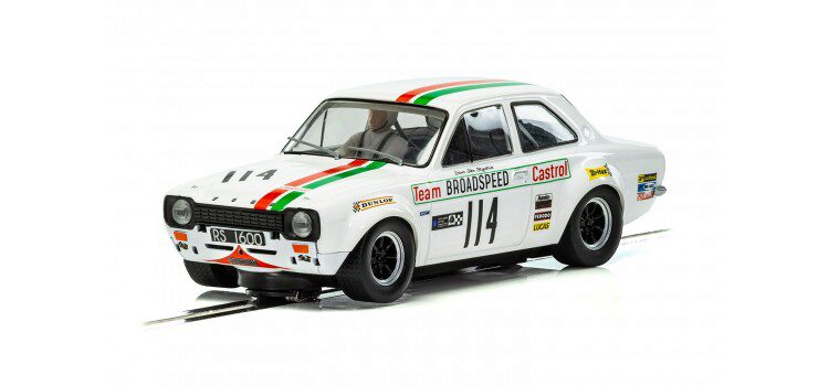 Scalextric C3924 Ford Escort MK1 Team Castrol Brands Hatch 1971