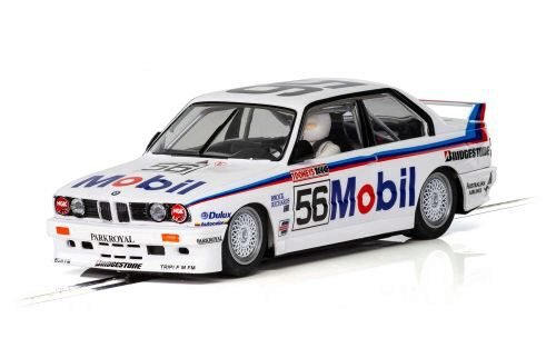 Scalextric C3929 BMW E30 M3 1988 Peter Brock Bathurst No56